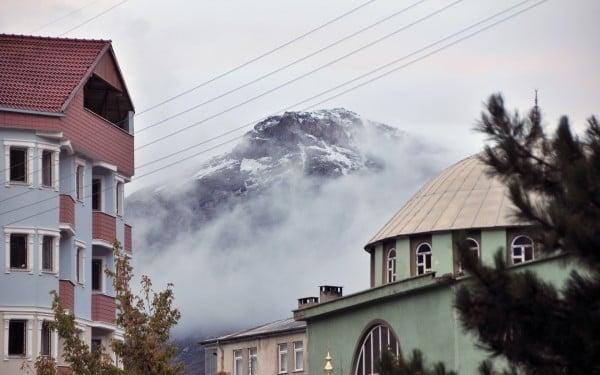 köyde kar