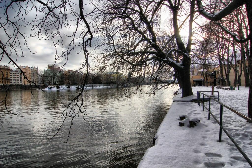 kış günü prag