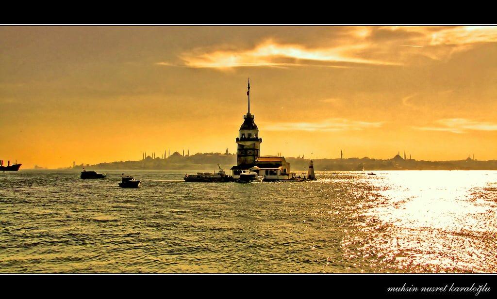 kız kulesi ve istanbul