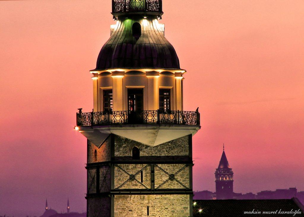 kız kulesinden galata