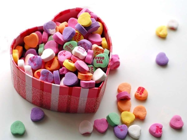 kalp içindeki kalpler