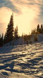 kar ve gün batımı 1080x1920