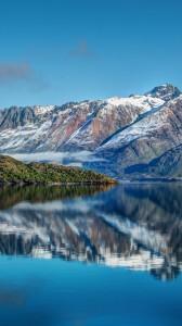 karlı dağ yansıma 1080x1920