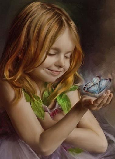 kelebek ve çocuk