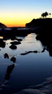lagun sahili gün batımı 1080x1920