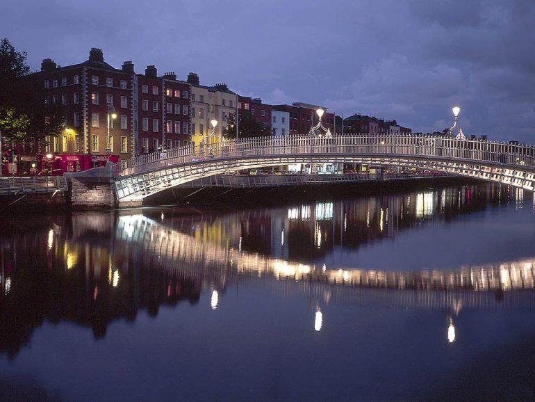 Half Penny – Liffey – Dublin – İrlanda