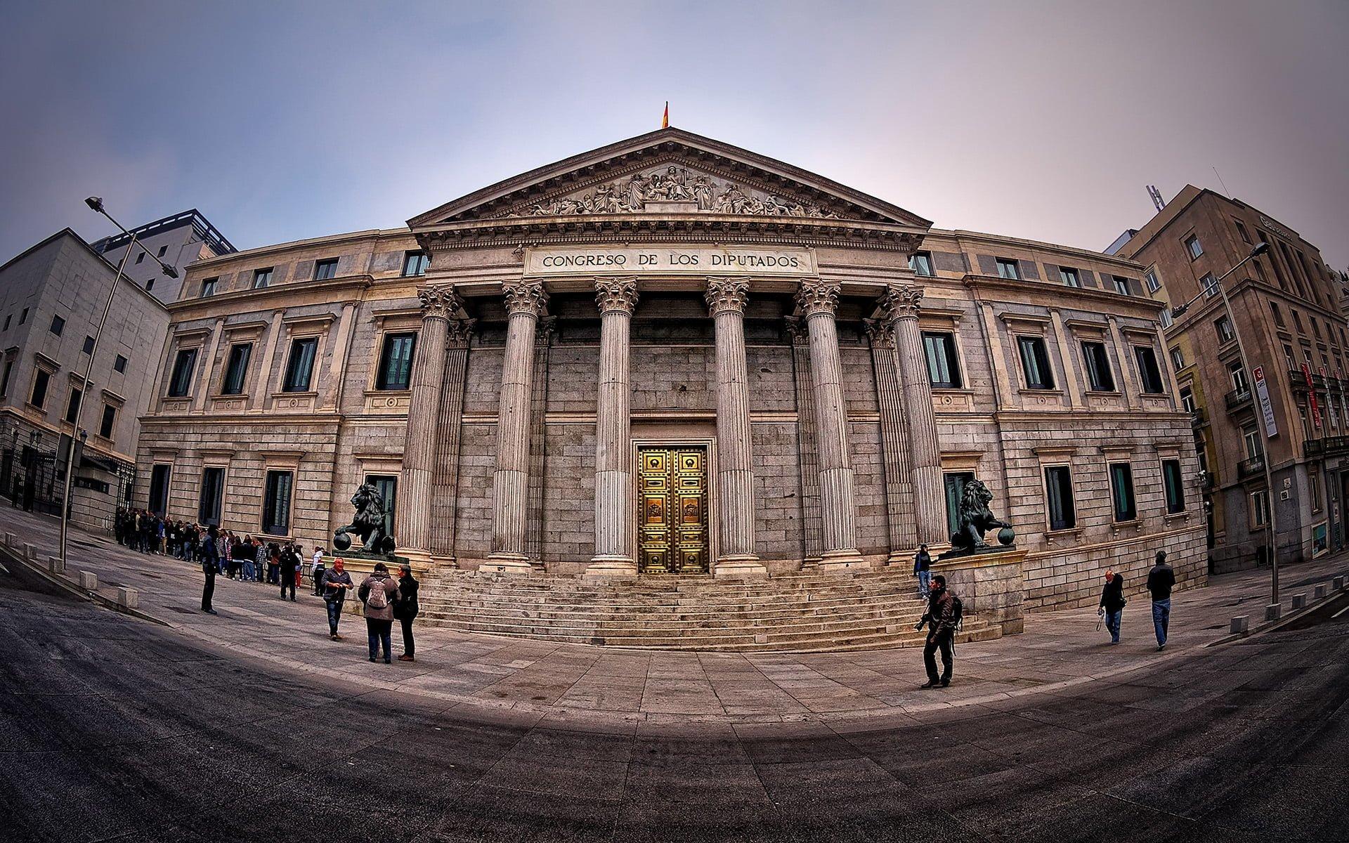 madrid parlamento sarayı