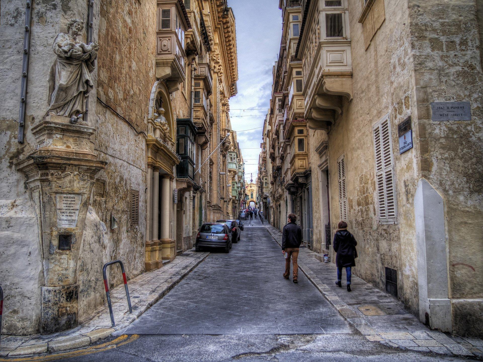 malta ara sokaklar