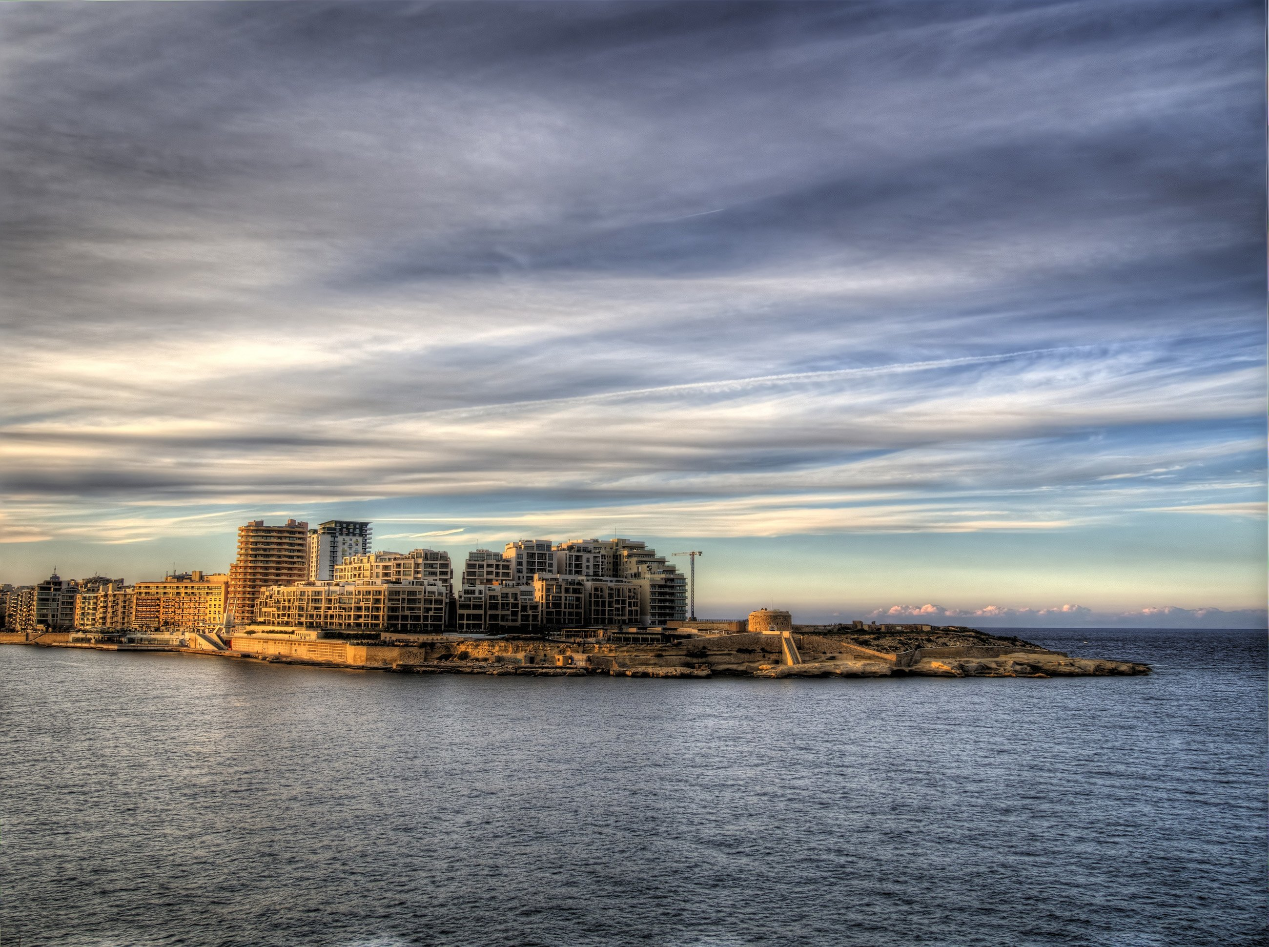 malta limanı gün batımı