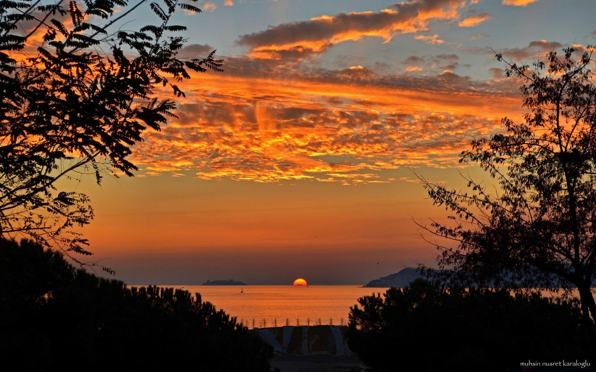maltepe'den adalar ve gün batımı