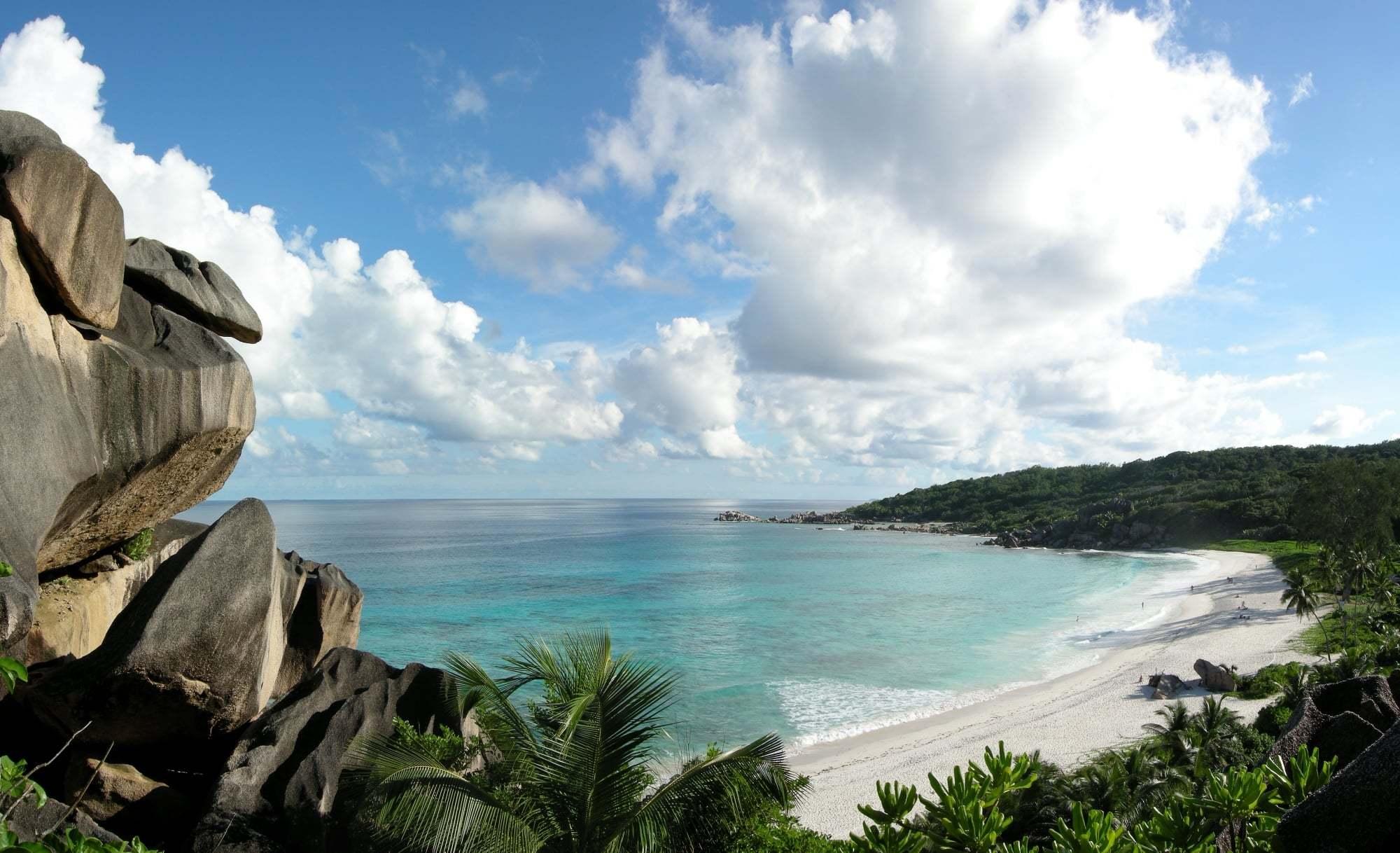 Grand Anse Sahili Manzarası