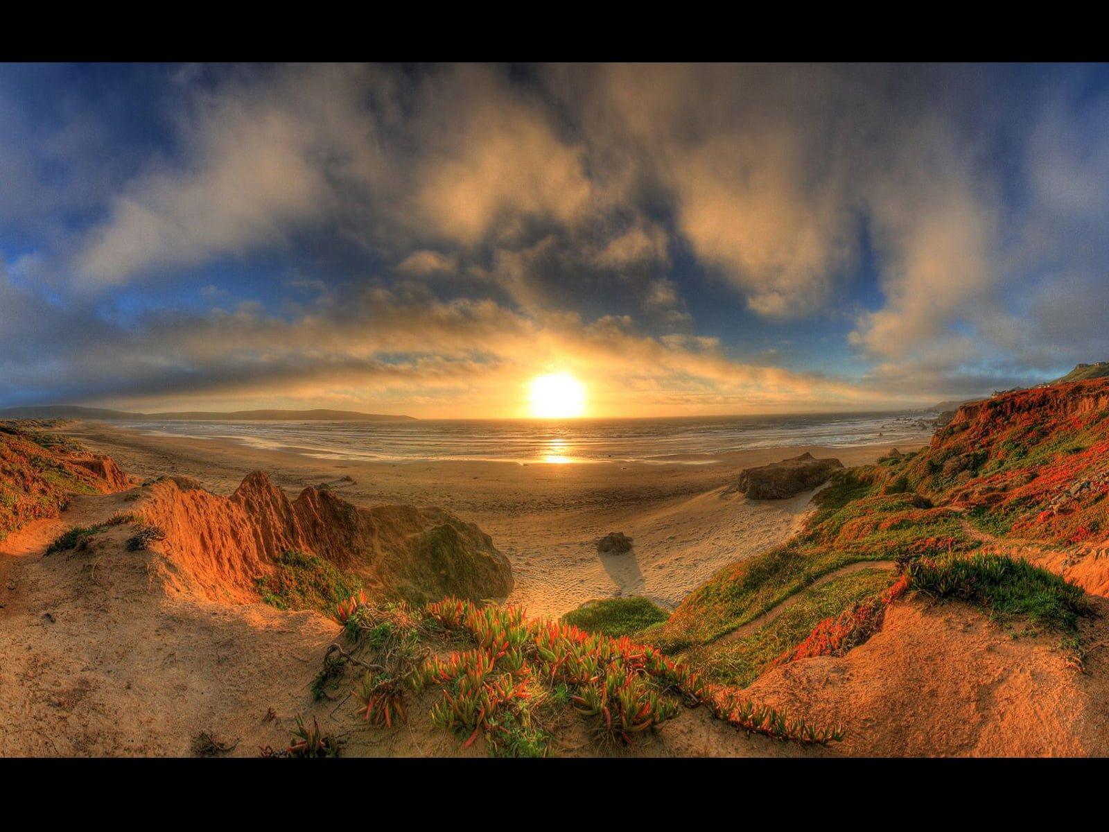 Güneşin Batış Anı Manzarası