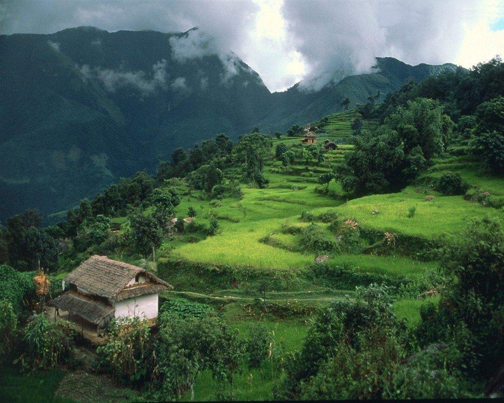 Dağlık Bölge Manzarası