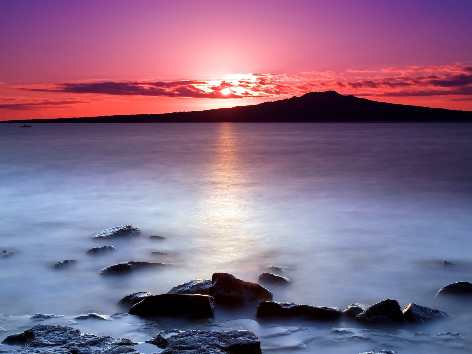 Denizde Gün Batımı