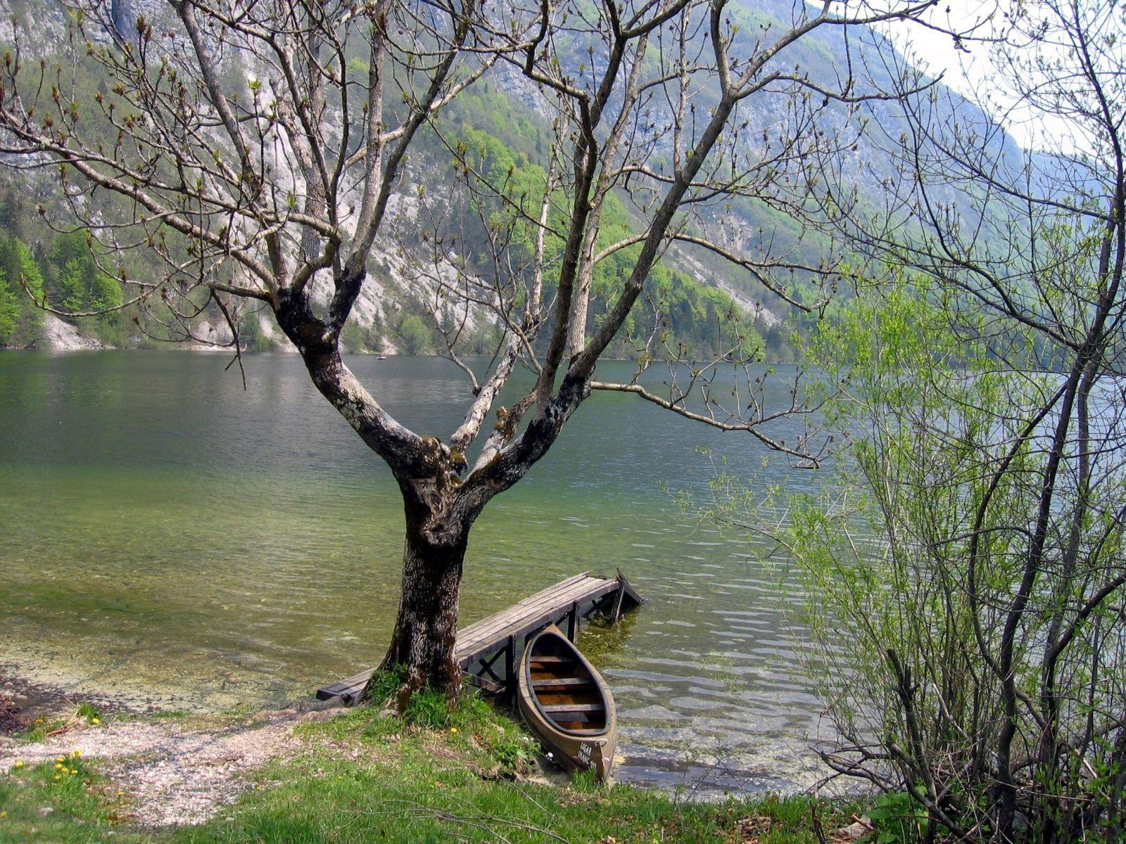 Göl Kenarındaki Kayık