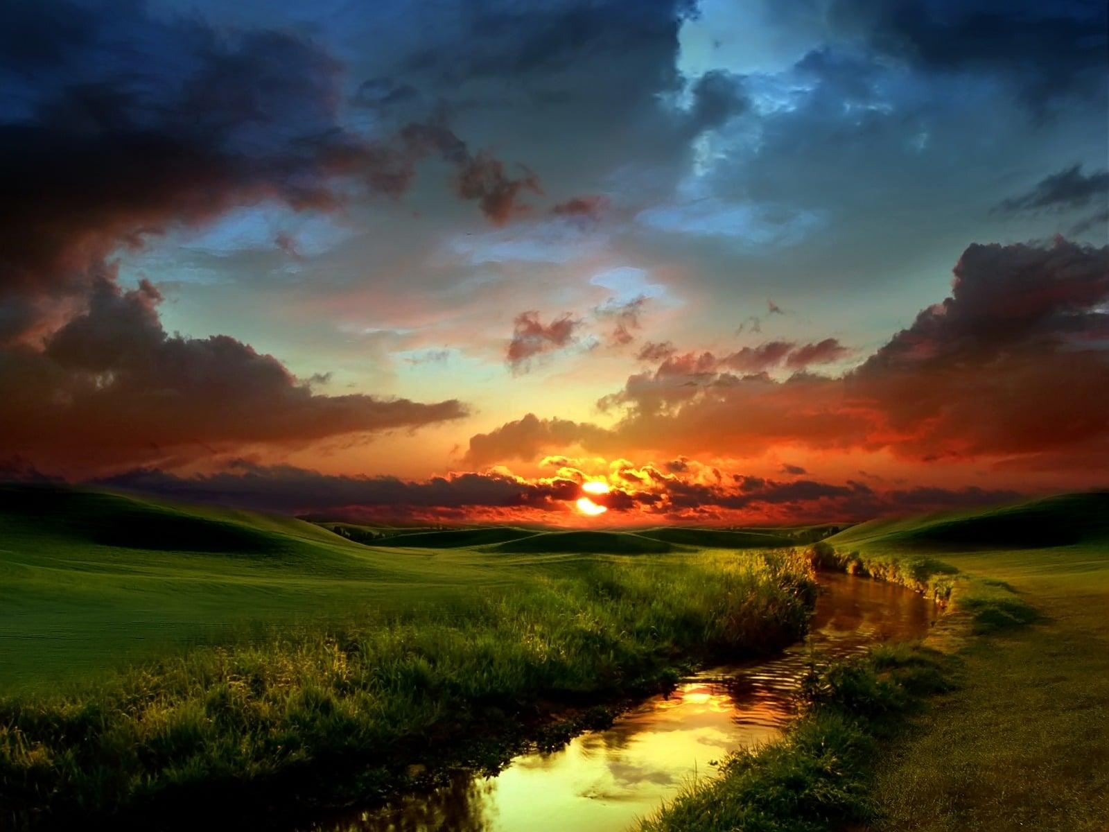 Gün Batımının Muhteşem Renkleri