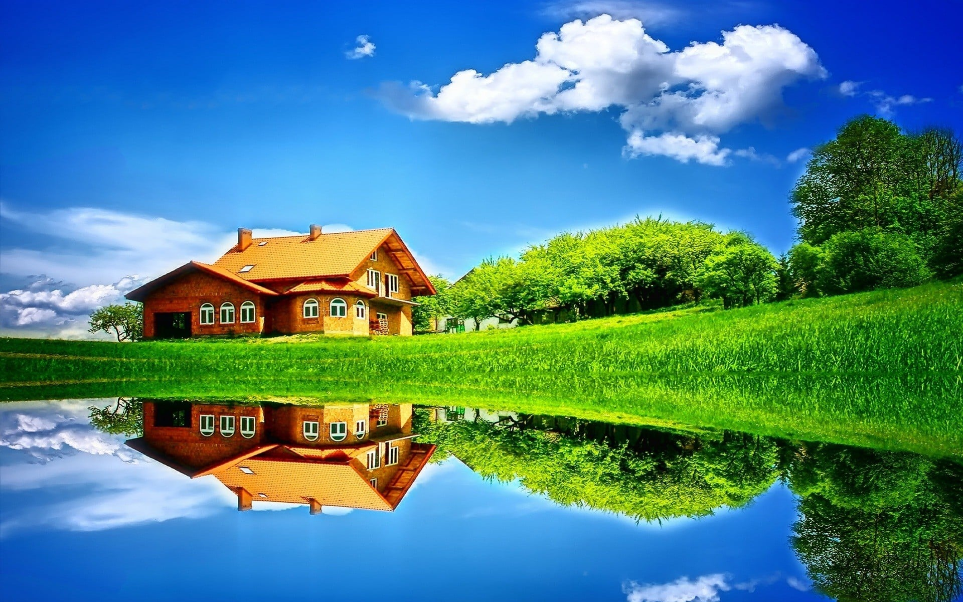 manzara ve ev