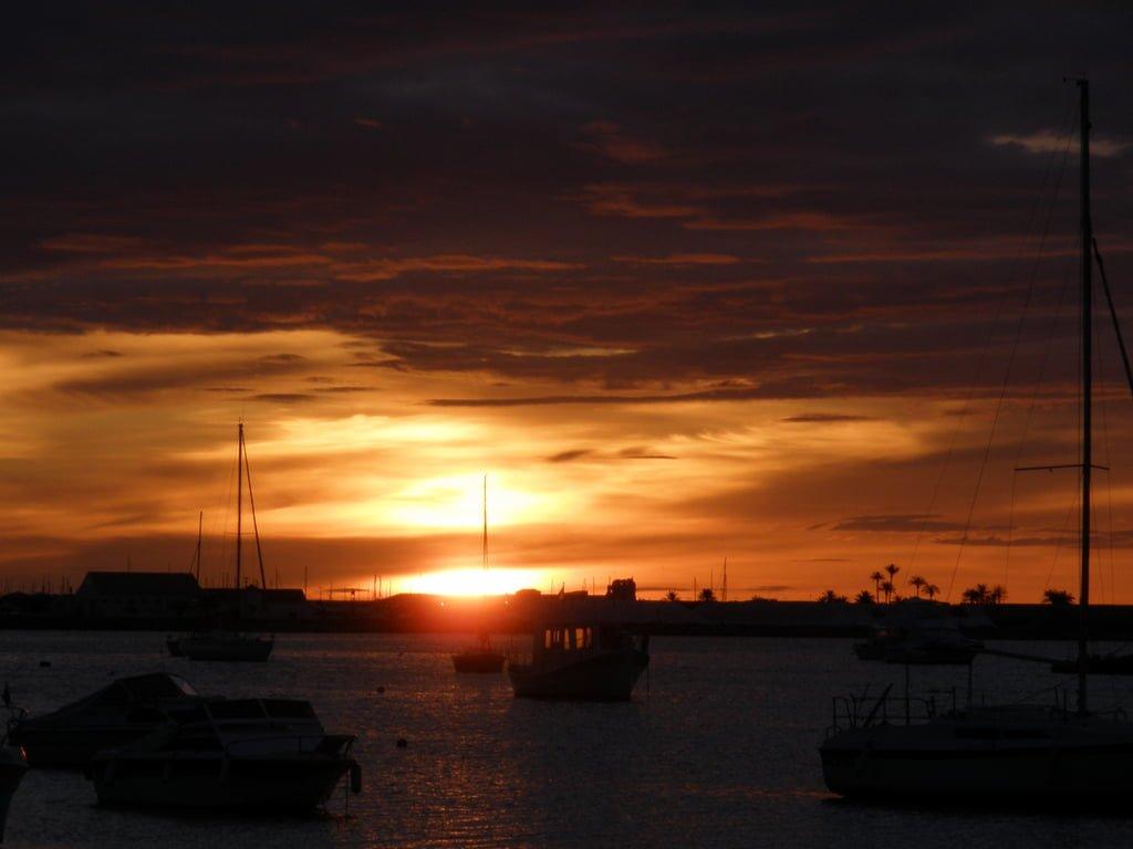 mar menor gün batımı