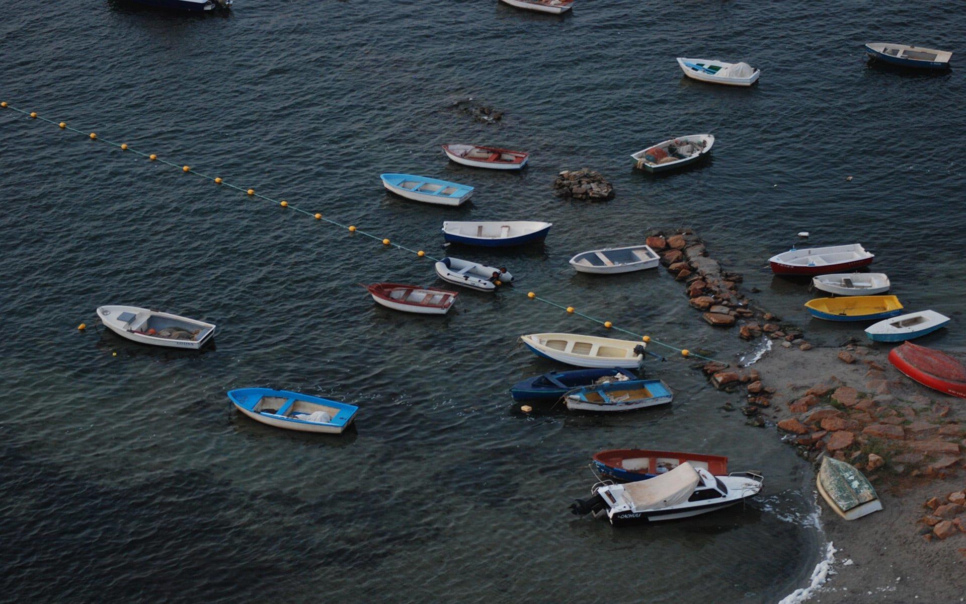 mar menor kayıklar