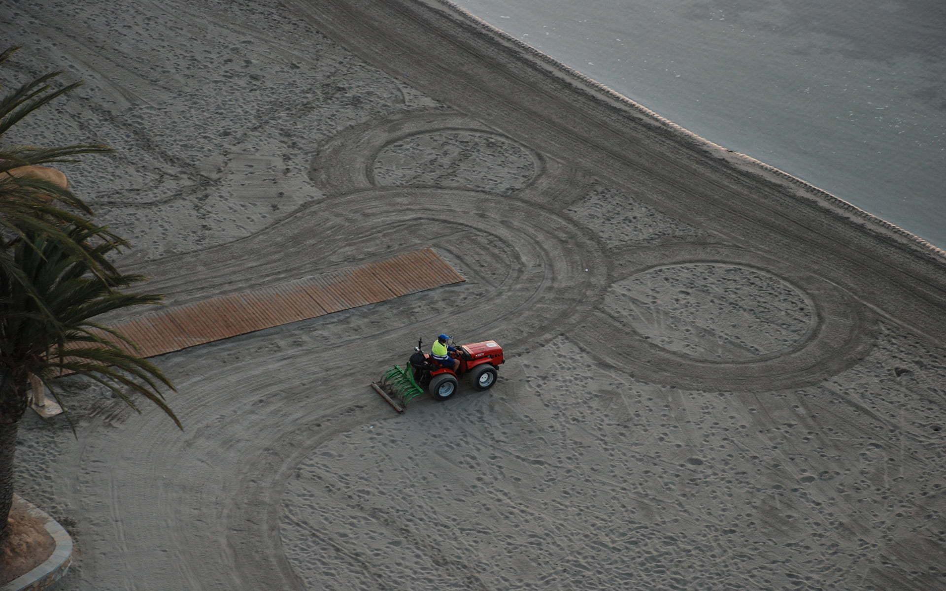mar menor traktör