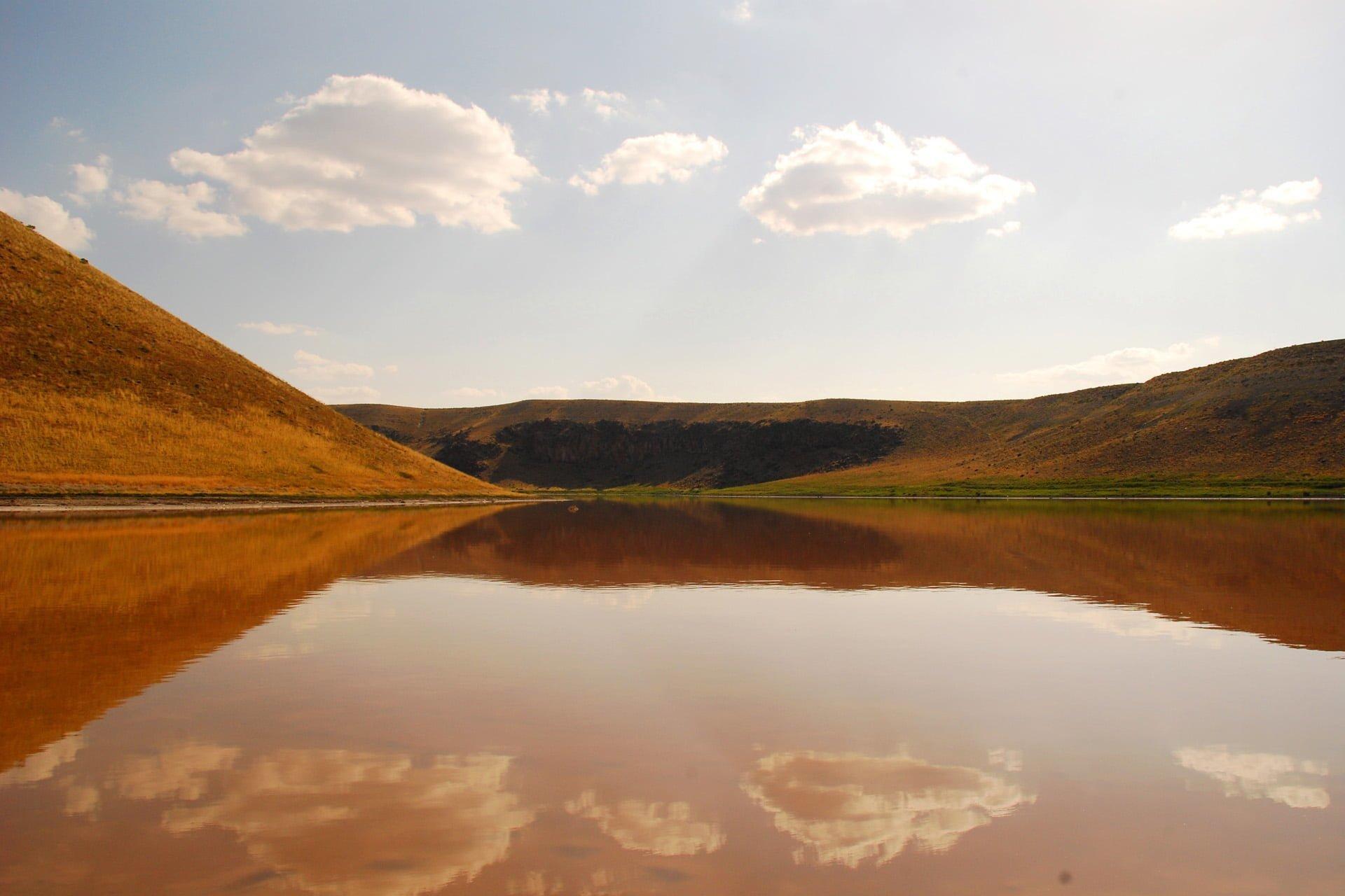 meke krater gölü resimleri