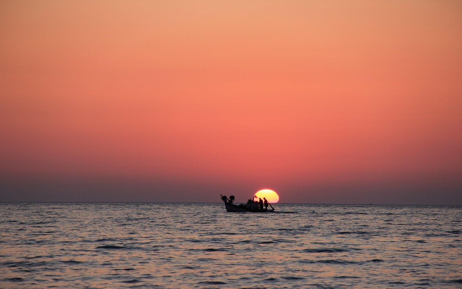 molivos gün batımı
