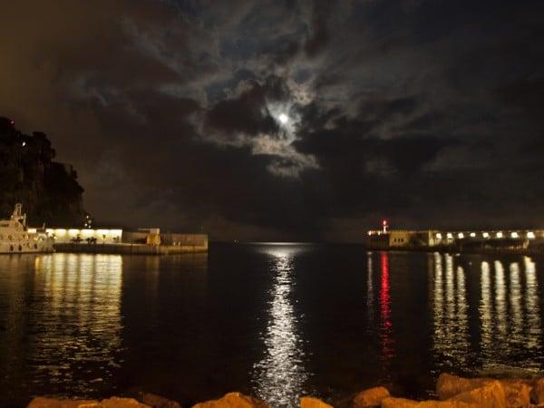 bulutlar ve gece