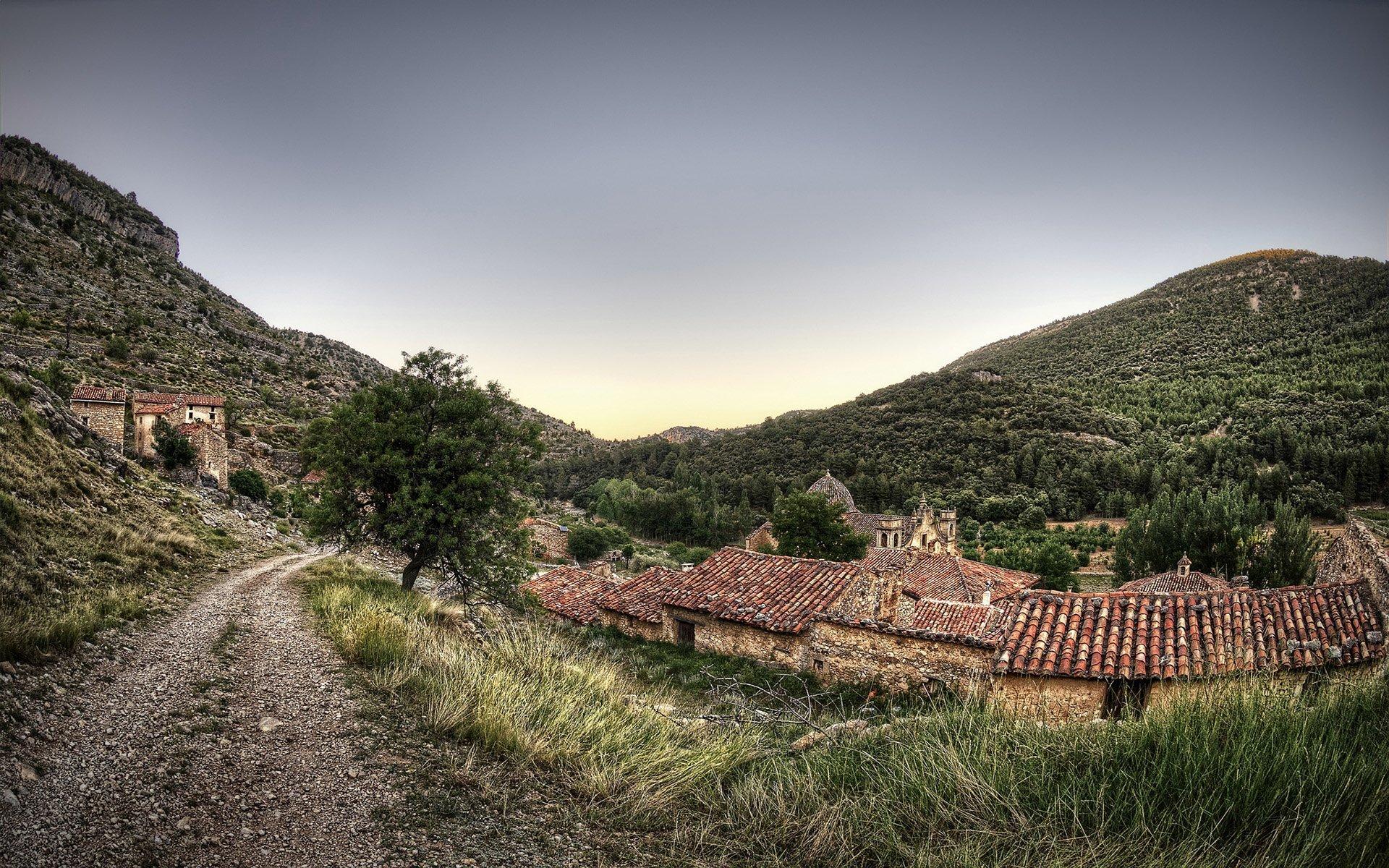 mosqueruela köyü