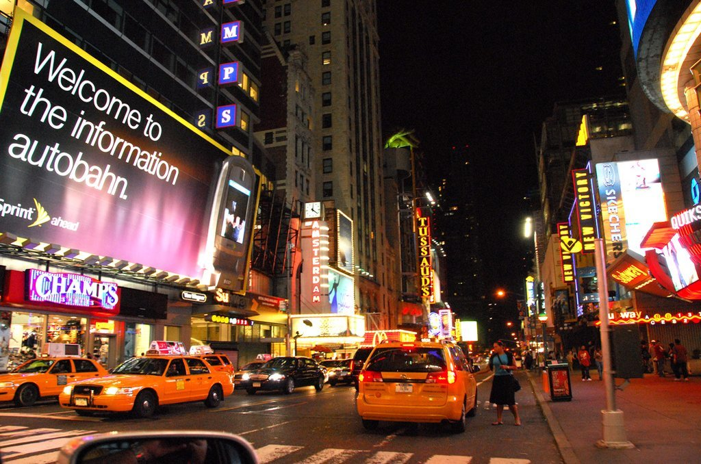 newyork trafik