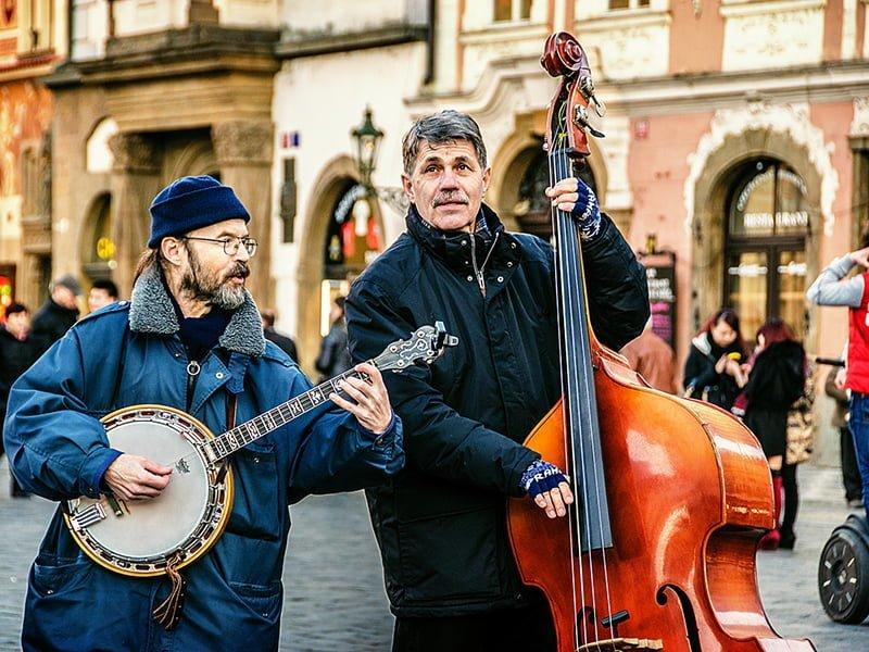 prag sokak müzisyenleri