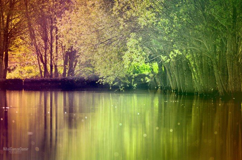 renkli göl