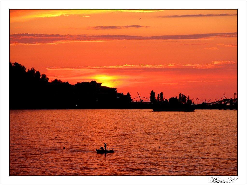 rize gün batımı