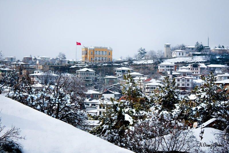 safranbolu kış