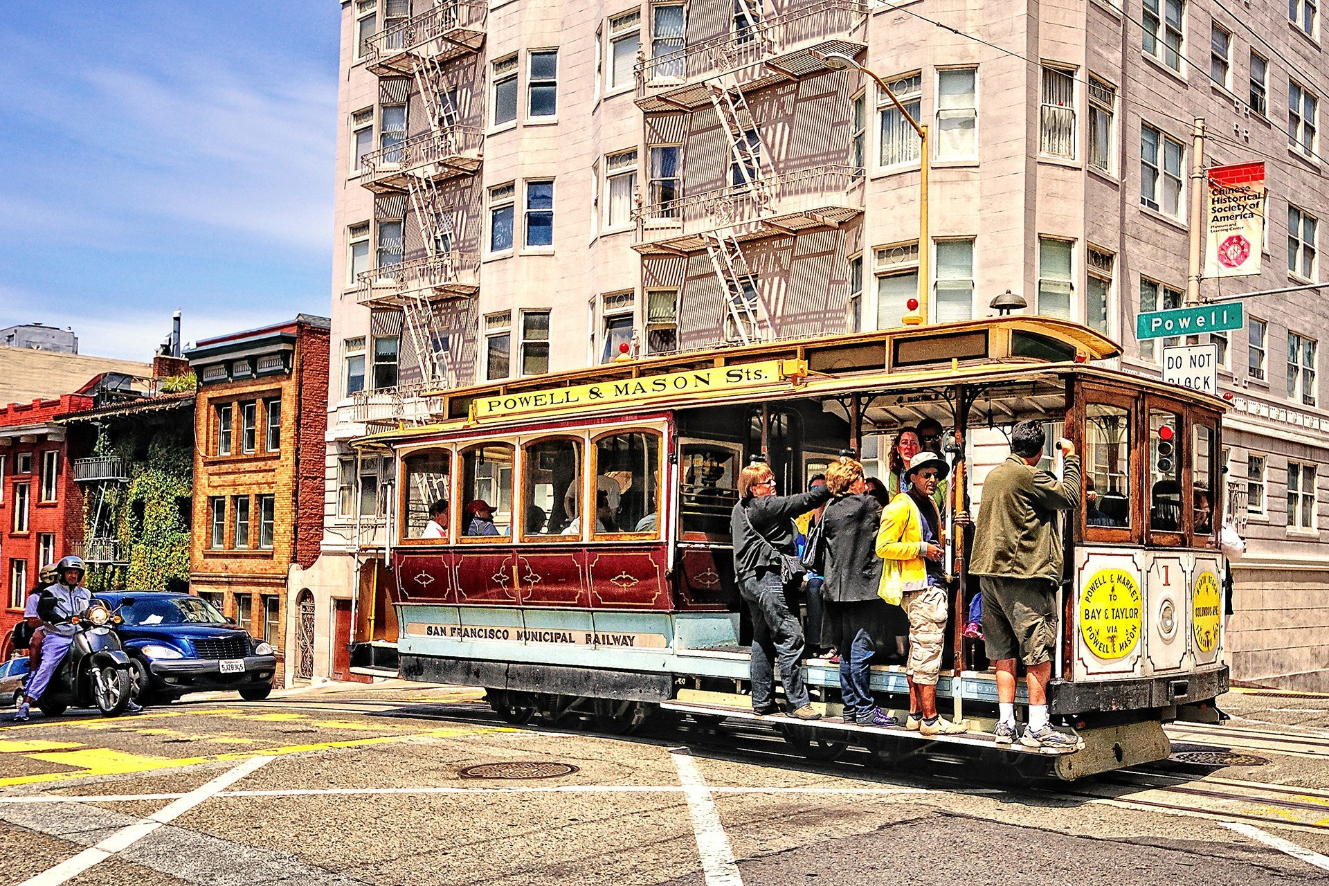 san francisco tramvay
