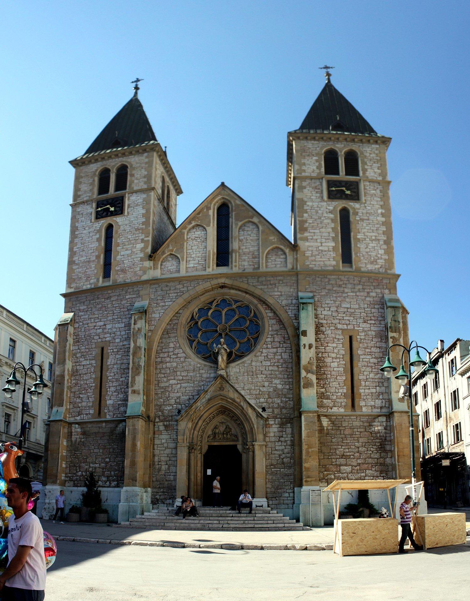 saraybosna katedral