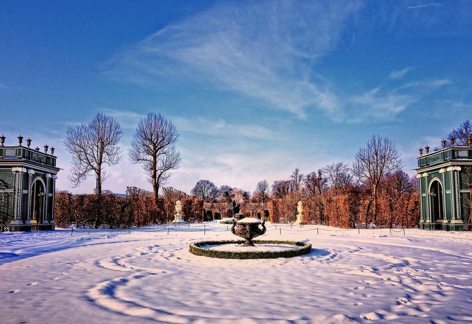 schönbrunn sarayı bahçesi