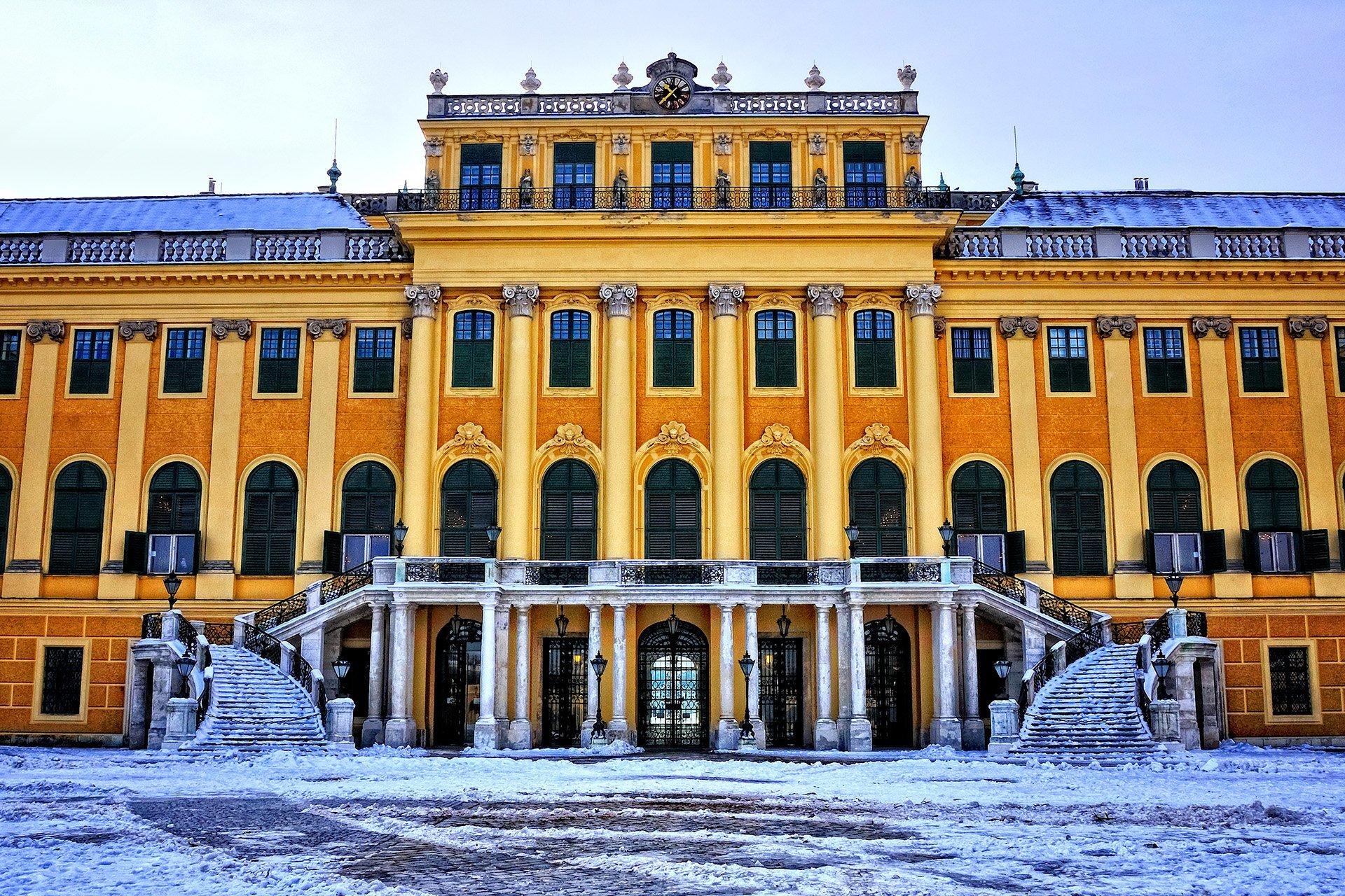 schönbrunn sarayı – viyana