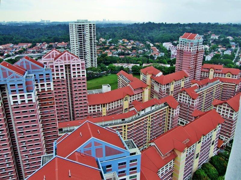 singapur evler