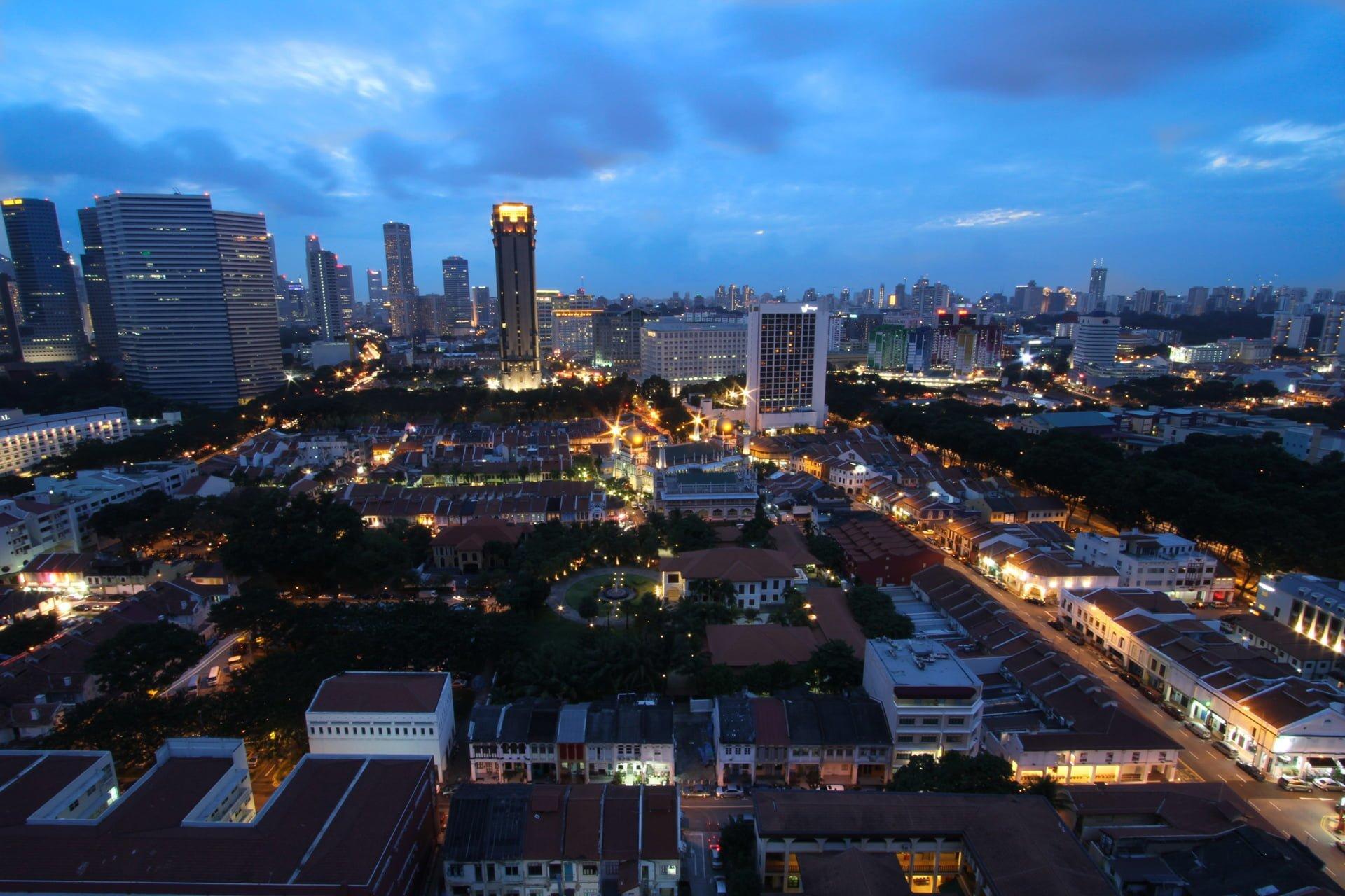 singapur görüntüleri
