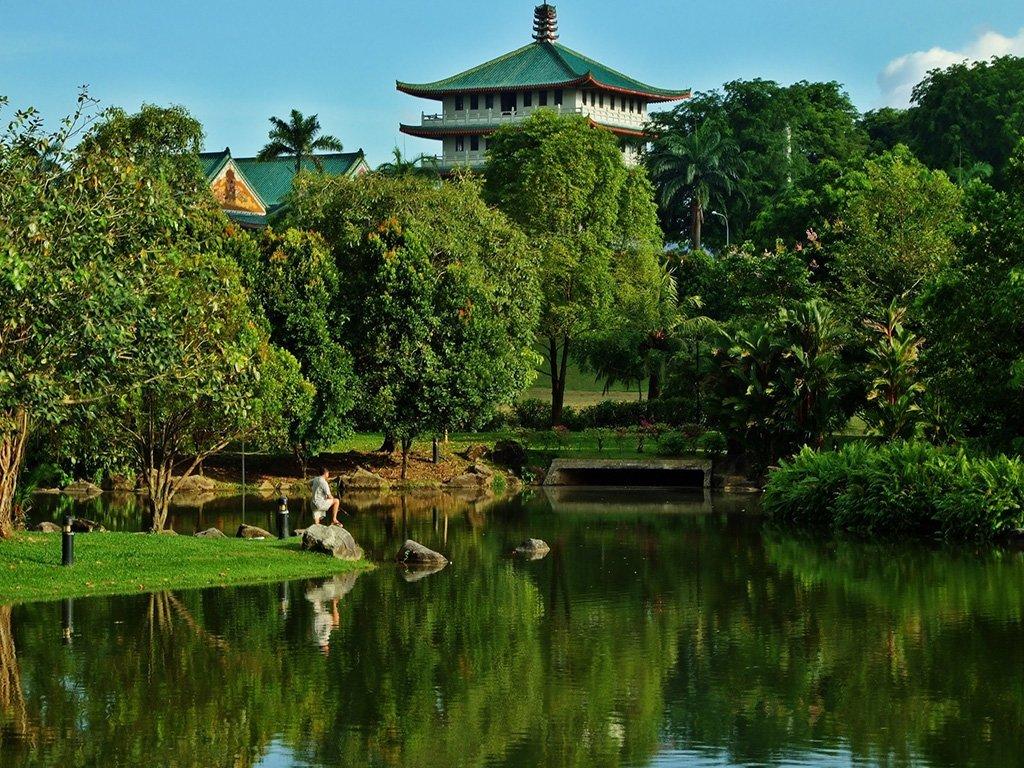 singapur – yeşil park