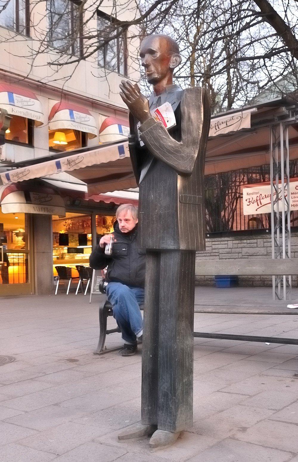 sokak heykeli
