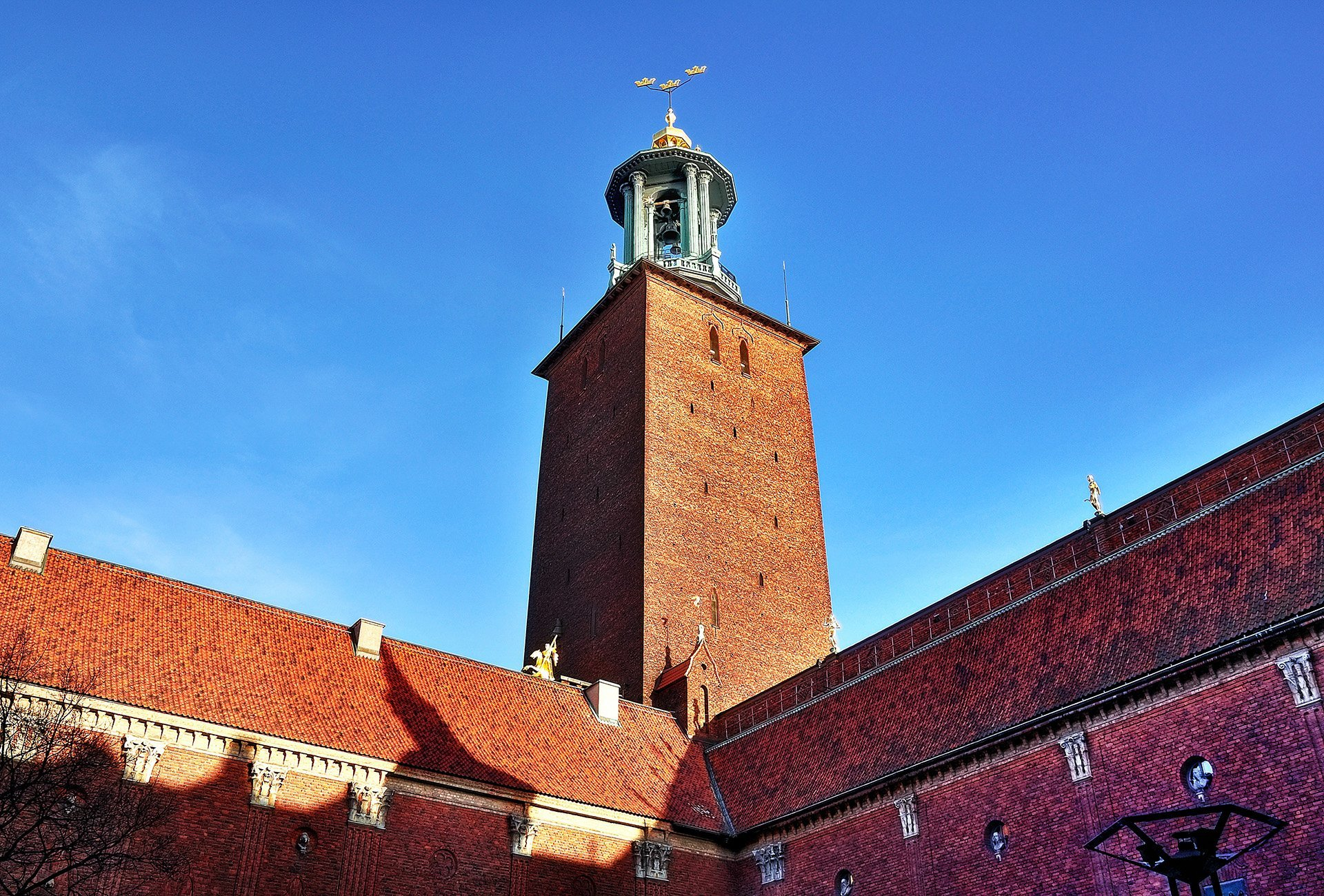 stockholm şehir salonu