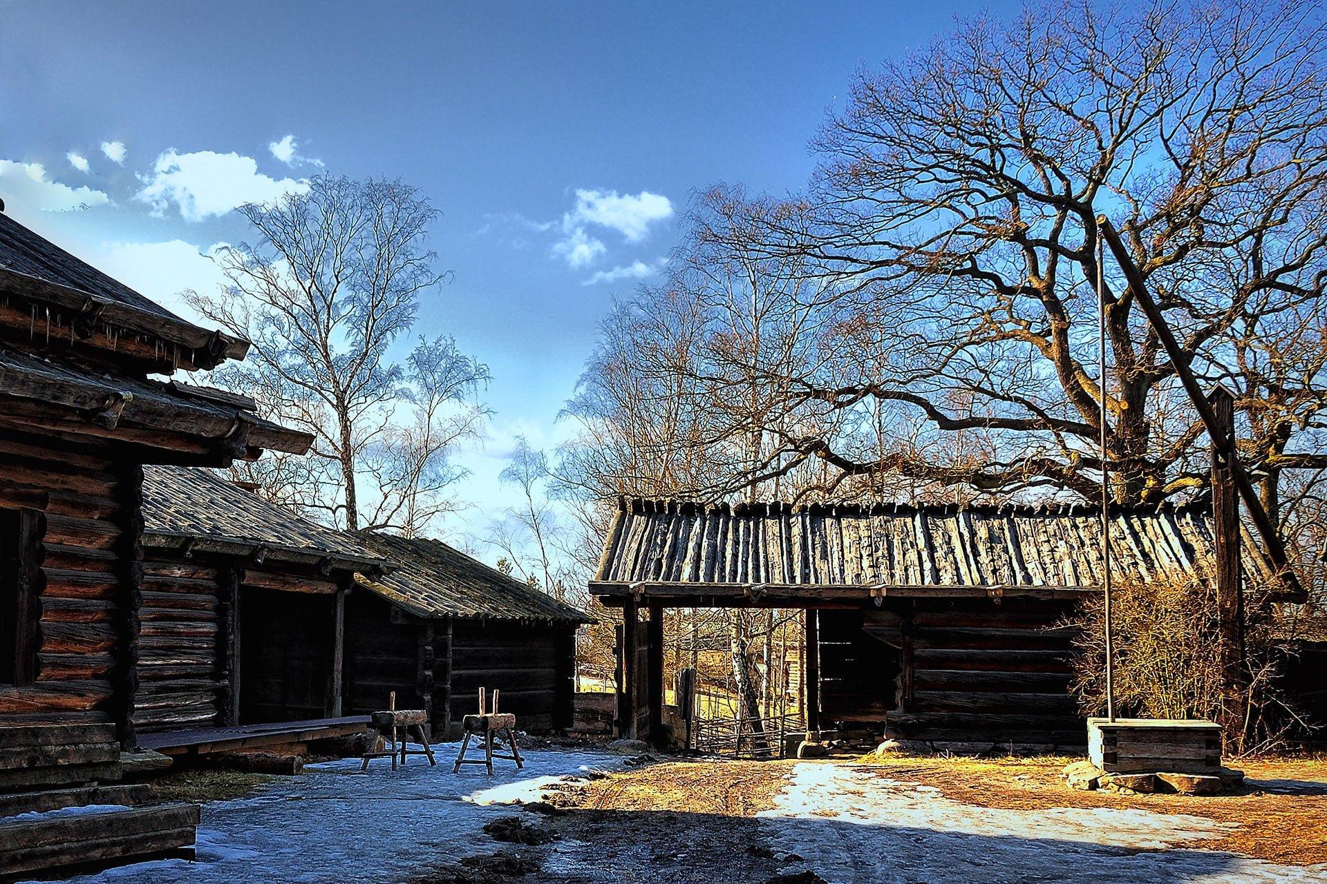stockholm ahşap evler