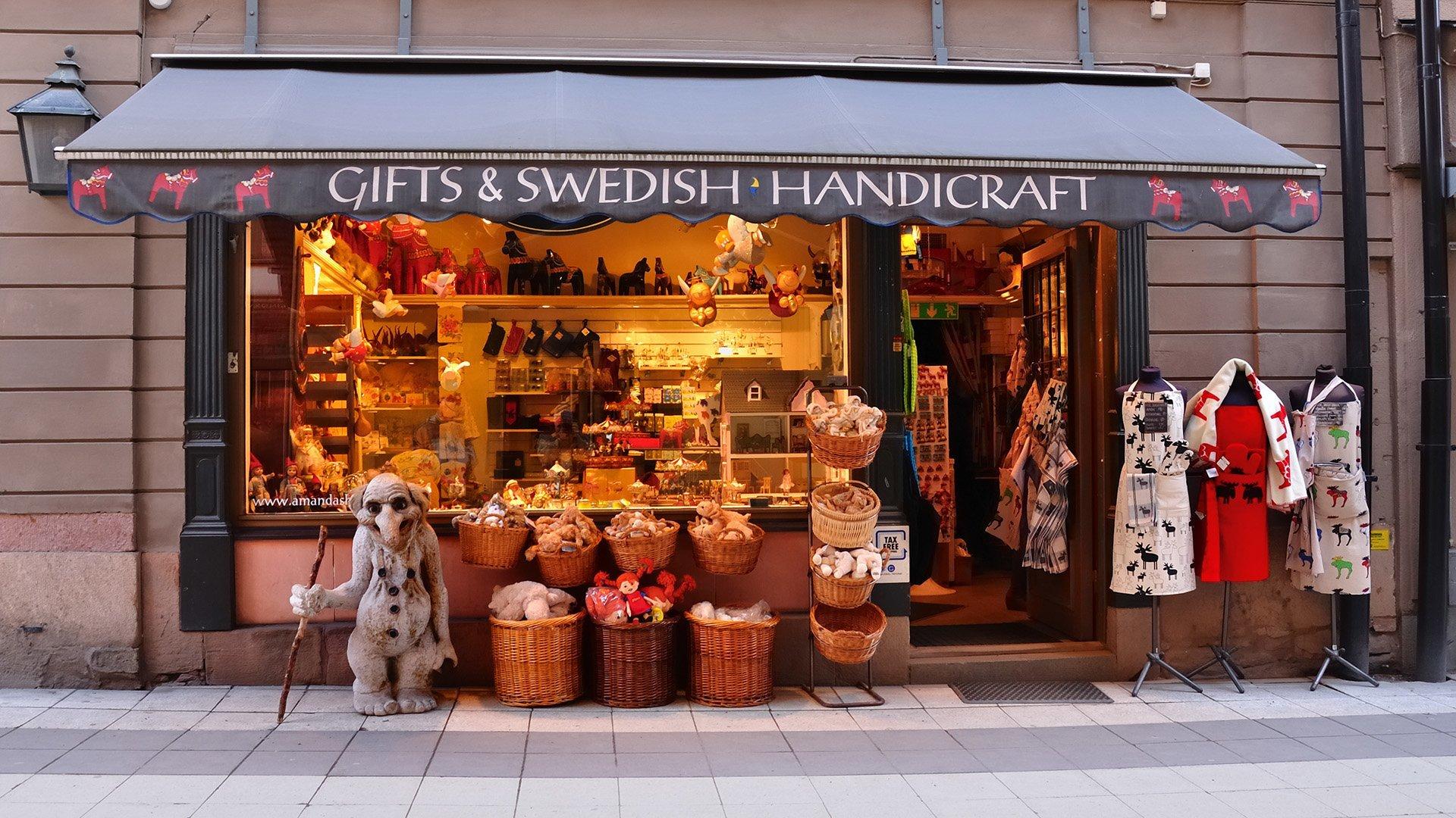 stockholm dükkan