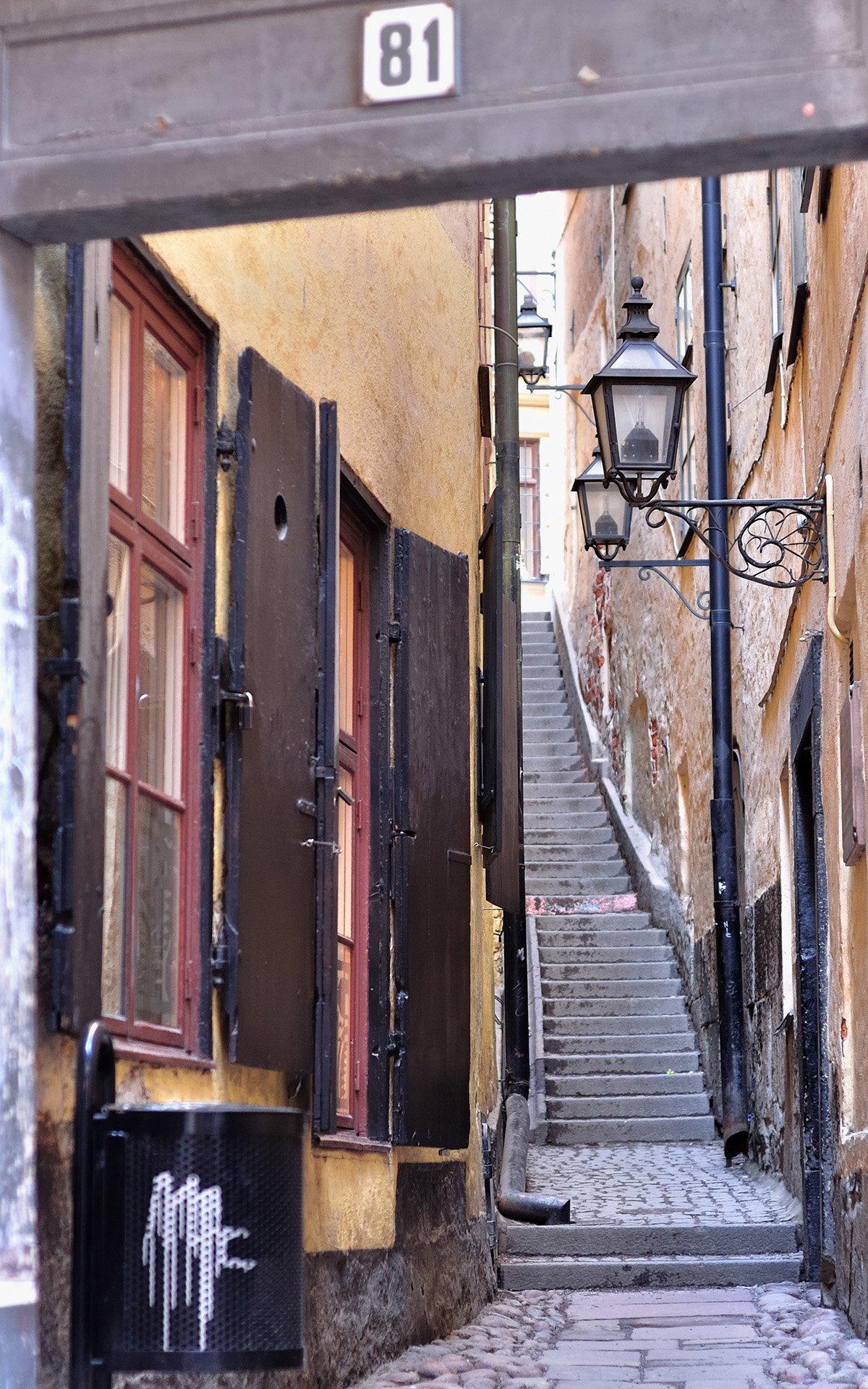 stockholm dar sokak