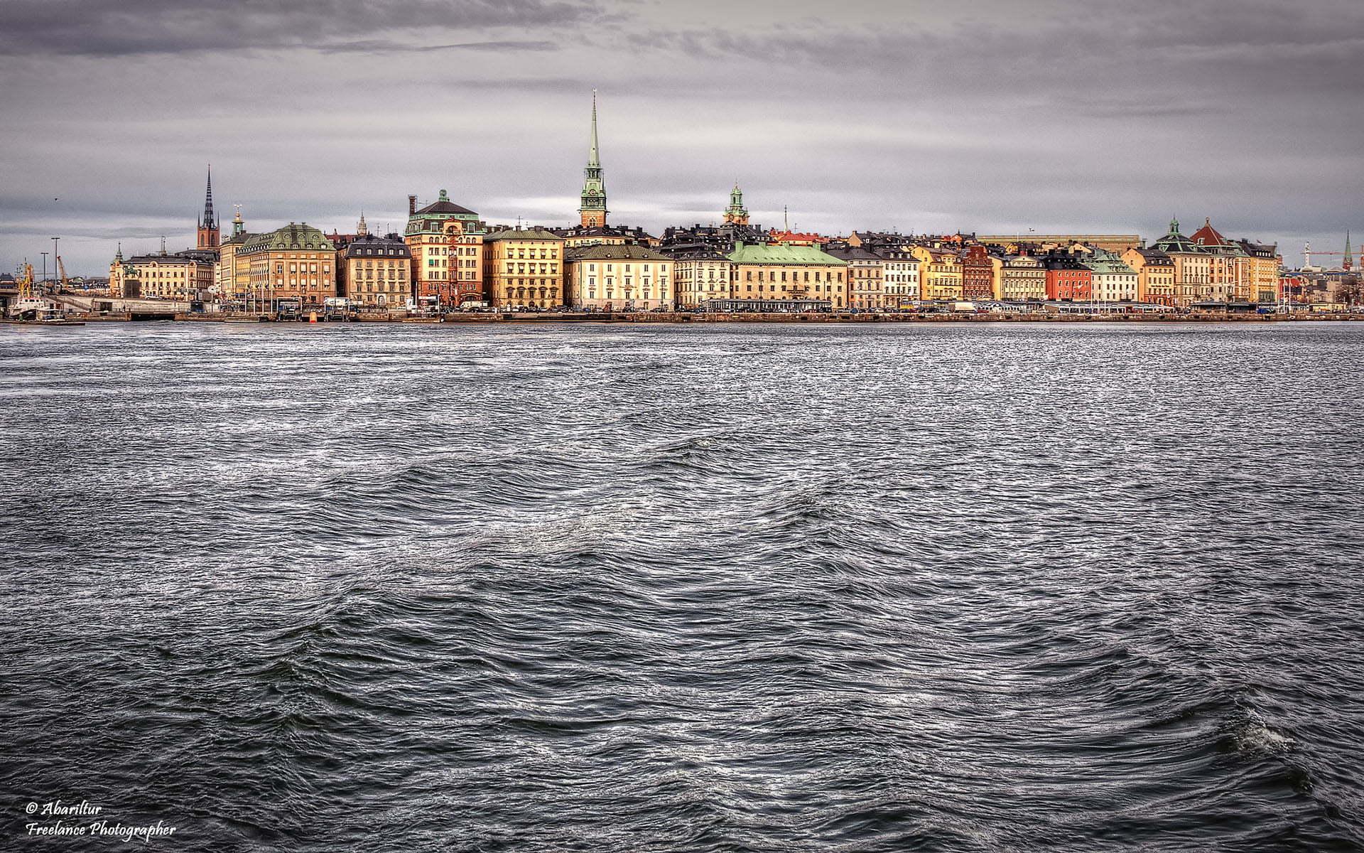 stockholm'den hdr manzaralar
