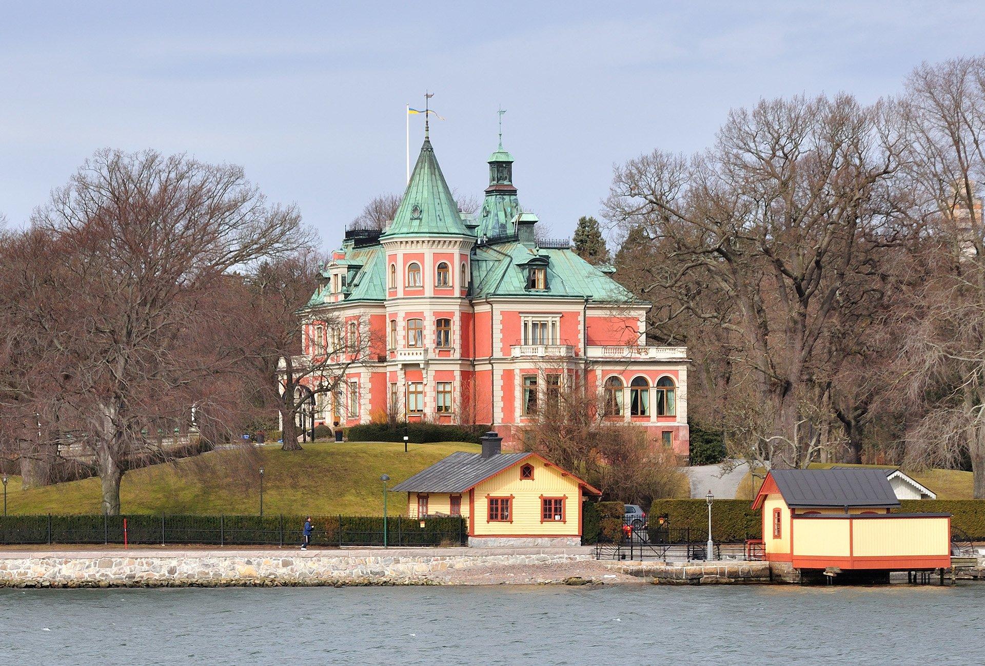 stockholm kıyı manzarası