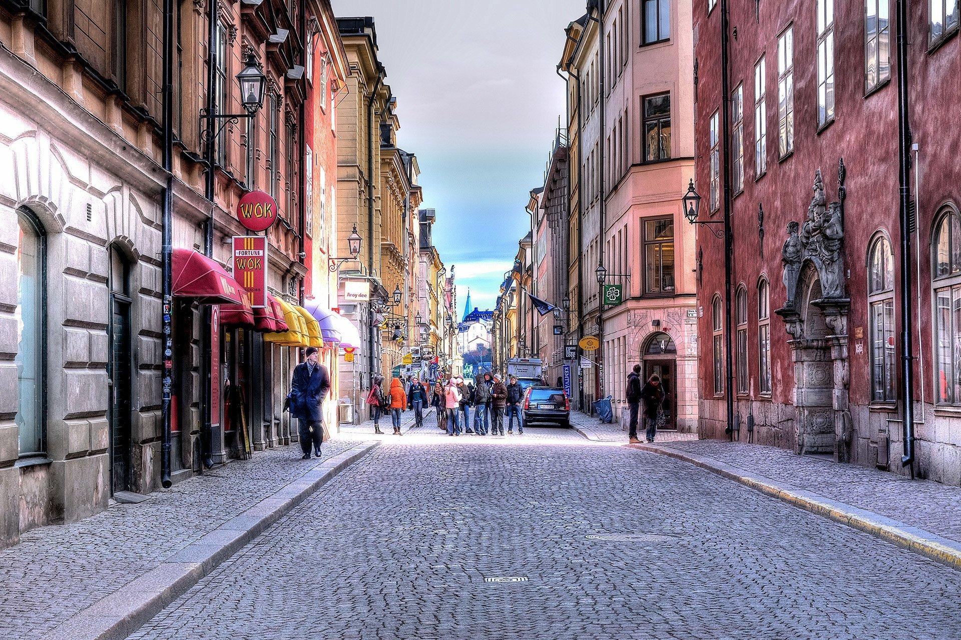 stockholm sokakları