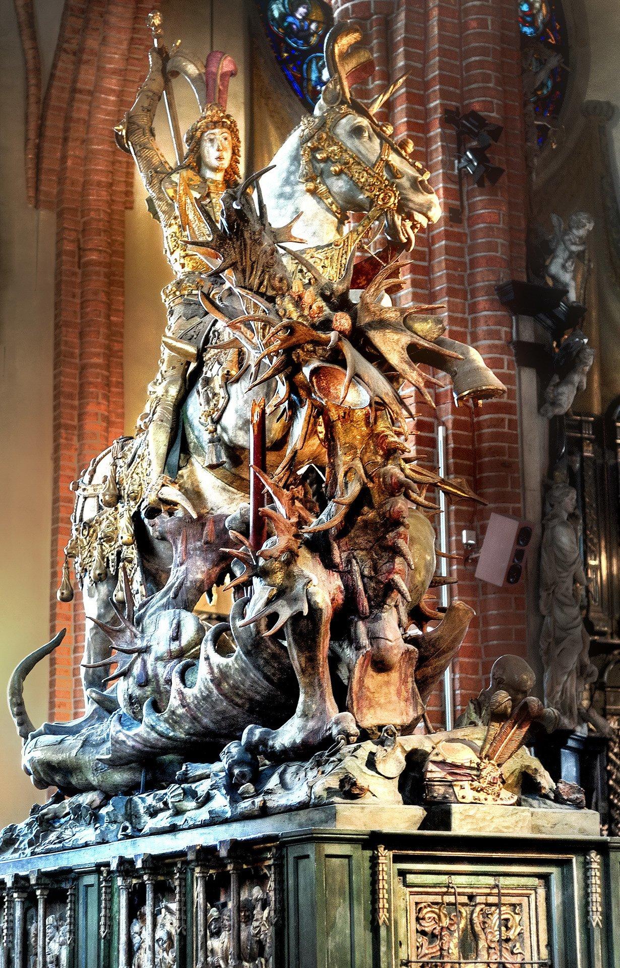 storkyrkan kilisesi – heykel