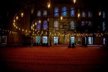 sultan ahmet camii iç mimari